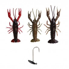 Savage Gear 3d Crayfish 8cm pack 3 +1