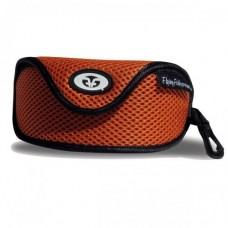 Flying Fisherman Mesh Sunglasses Case Orange