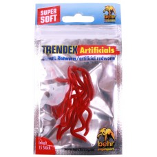 Behr Trendex Earthworms - red