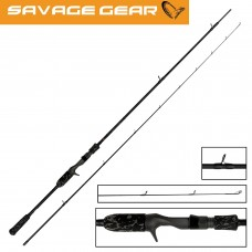 Savage Gear Black Savage Trigger Rod - 7ft 3in