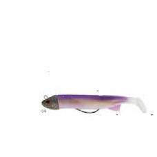 Sakura Texshad 100 soft lure combo - Purple/Pearl