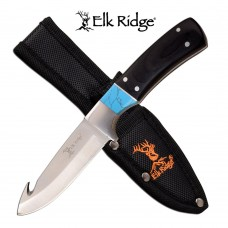 "Elk Ridge Fixed Blade Knife 6.85"""