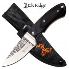 ELK RIDGE FIXED BLADE KNIFE ER20018BK