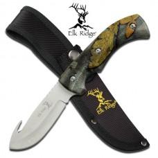 """Elk Ridge ER-274FC FIXED BLADE KNIFE 8.75"""" OVERALL"""