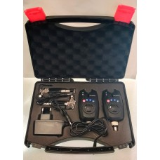 Albatros CypriHunt rechargeable bite alarm kit.