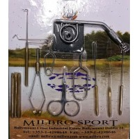 Milbro fly tying tool kit