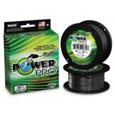 Power Pro Braid Hi Vis Moss Green 275m spools