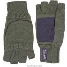 Jack Pyke suede palm shooters mitts
