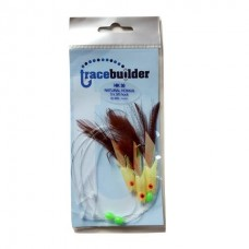 Tracebuilder Hokkai feather rig mixed color - 3 hook