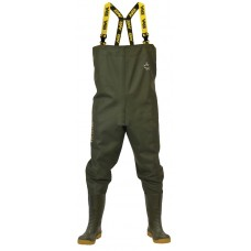 Vass 700 Heavy Duty PVC Bootfoot Chest Wader