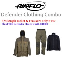 Airflo Defender Jacket and Trouser combo
