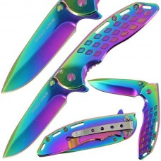 Anglo Arms Tri-Coated Rainbow Lock Knife