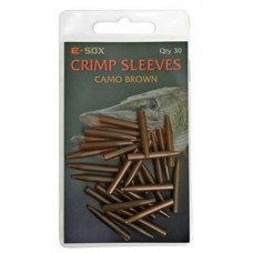 Drennan E-Sox crimp sleeve - camo brown