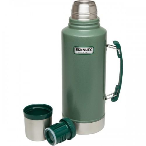 1 L Stanley Classic Legendary Vacuum Bottle Green 1 Litre