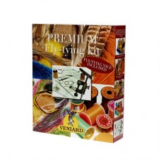 Fly Tying Kit with vice - Veniards Premium