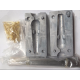 SeaTech Lead Mould - 5oz gripper mould