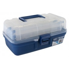 Jarvis Walker 2 tray clear top tackle box