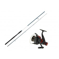 Kinetic Fantastica CC spinning rod and CRK50 reel combo