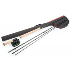 Guideline Laxa Fly fishing kit combo 12ft6in line 8-9