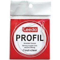 Leeda Profil braided loops - trout clear