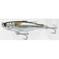 Live Target Mullet Twitch Bait Plug - Silver Brown