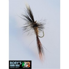 Mayfly Dry - Grey Wulff and ginger