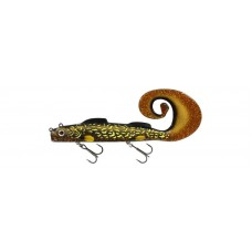 Westin Monsterteez R & R Pike sinking lure - motoroil pike