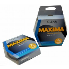 Maxima One Shot Clear monofilament fishing line