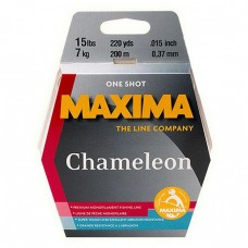 Maxima One Shot Cameleon monofilament fishing line
