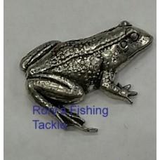Pewter pin - Frog