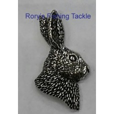 Pewter pin - Hares Head