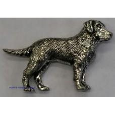 Pewter pin - Labrador