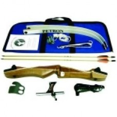 Petron S1 Take Down Wooden Recurve Bow Kit - Strong
