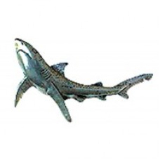 Pewter Pin - Blue Shark