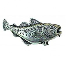 Pewter Pin - Cod