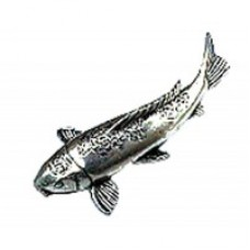 Pewter Pin - Koi carp