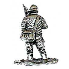 Pewter Pin - Fisherman