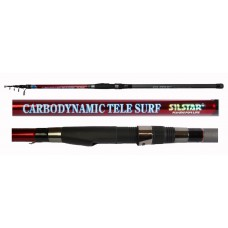 Silstar Carbodynamic Tele Surf beachcaster rod