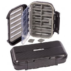 Snowbee slit-foam/compartment waterproof fly box XL