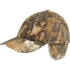 Jack Pyke Wildfowl Camo hat with 5 LEDs in peak