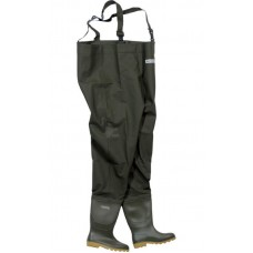 Ocean Deluxe Chest Waders Studded Soles