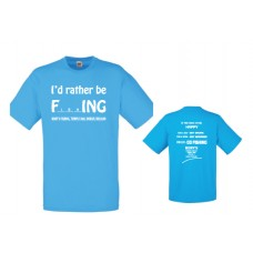 Rorys T-shirt - rather be fishing