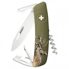 Swiza Pocket Knife D05 - Stag