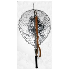 "Sharpes Gye Net 28"" Teardrop salmon net"