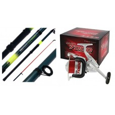 Angling Pursuits Telescopic Beach Rod and Reel combo
