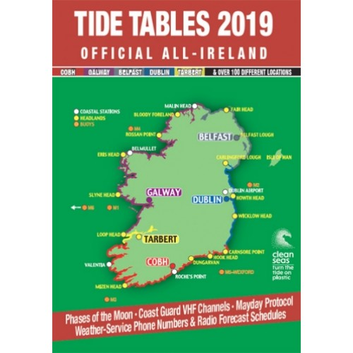Map Of Ireland Headlands.Tide Table